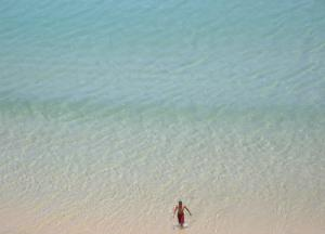 منظر لشاطئ إيدن ببلدية عين الترك