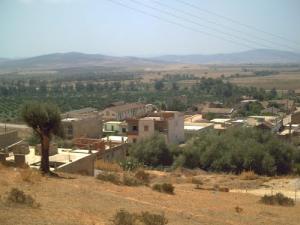 Vue sur la périphérie de Djendel Saadi Mohamed