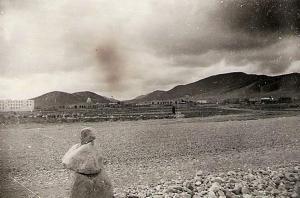 صورة لقرية بن سرور في العهد الإستعماري