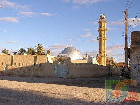 صورة لمنارة مسجد أولاد جلال