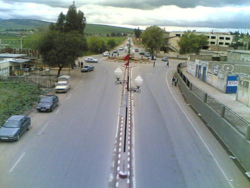 Centre ville de la cit� d'El Harrouche