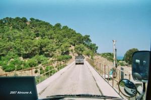 صورة للجسر القديم لواد
