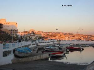 منظر من ميناء ساحل لامدراق (الجزائر العاصمة)
