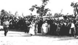 مهرجان فلكلوري بمدينة برواڨية في سنة 1968