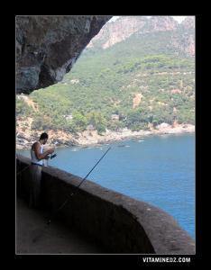 هواة الصيد بشاطئ الزيقواط