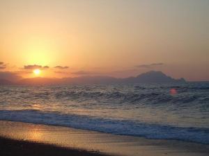 صورة من شاطئ تيشي (ولاية بجاية)