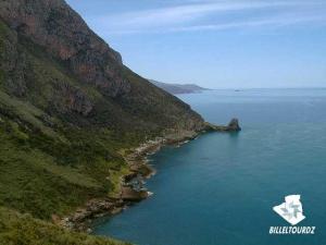 منظر من الساحل المالح بولاية بجاية