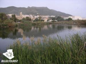 صورة من بحيرة مزاية بولاية بجاية
