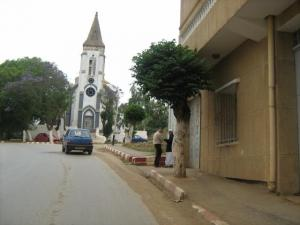 كنيسة مدينة ماهلمة بولاية تيبازة