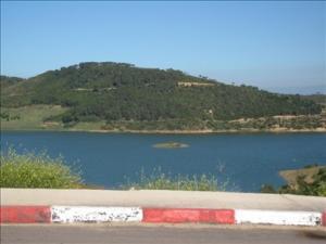 منظر من سد بوكردان
