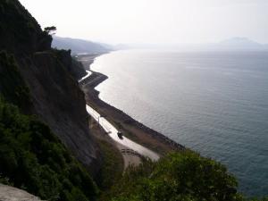 صورة شاملة لشاطئ أوقاس (ولاية بجاية)