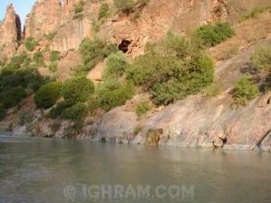 منظر من ضواحي حمام سيدي يحي بولاية بجاية