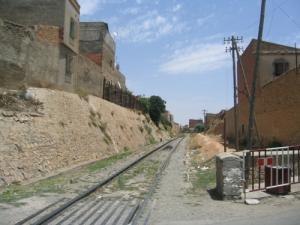 Passage Ferroviaire dans la ville de Sidi Belabbes
