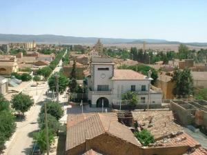 Vue sur la Mairie de Telagh (Wilaya de Sidi Belabbes)
