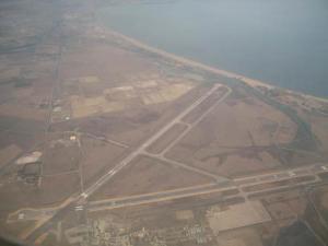 Vue Aérienne de l'Aéroport de Annaba