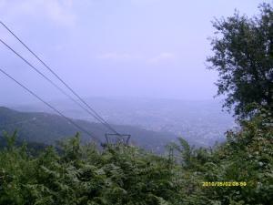 Le Téléphérique traversant les Forêts de Annaba