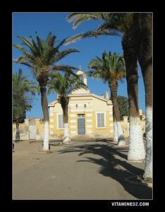 الكنيسة القديمة لقرية سيدي بن يبقى