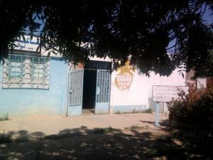 Entrée du Centre de Santé à Sidi Aissa