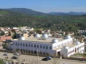 Vue sur la Mosquée Ibn Abbas à Guelma