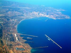 منظر خلاب من ميناء بلدية بطيوة