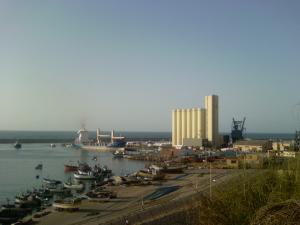 صورة لميناء مدينة مستغانم