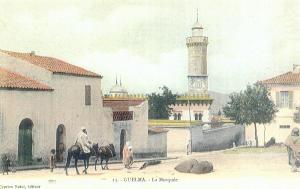المسجد العتيق لمدينة ڨالمة في الفترة الإستعمارية