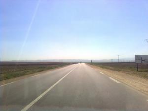 Route menant à la commune de Tamlouka (Wilaya de Guelma)