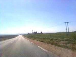 Autoroute menant à Tamlouka