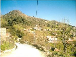 صورة لقرية سماون بضواحي مدينة بجاية