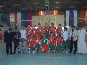 فريق الكرة الطائرة لولاية الأغواط (صنف الأشبال)