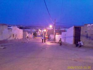 شوارع قرية