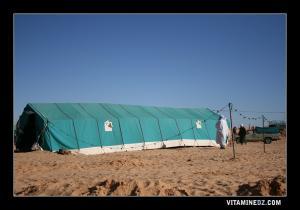 خيمة الإطعام بوعدة سيد أحمد المجدوب (بلدية عسلة)