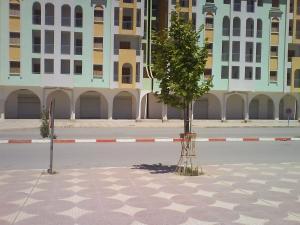 الشارع الرئيسي لمدينة المرجة