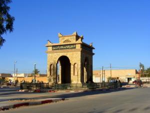 مدخل بلدية قصر الحيران بولاية الأغواط