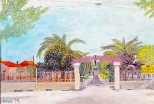 صورة لبلدية طابية في عهد الإستعمار