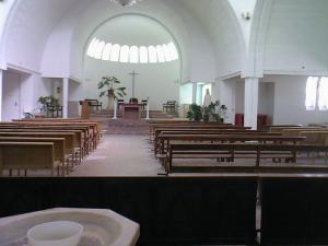 داخل كنيسة سانت كروز (ولاية وهران)