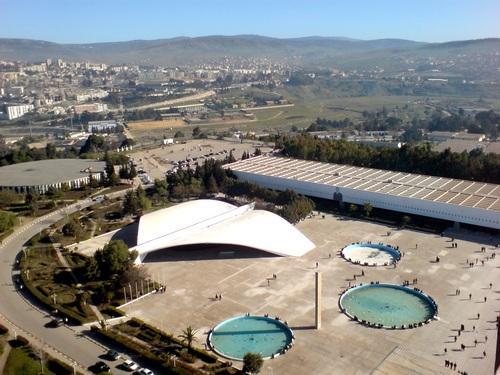 Esplanade et Auditorium à l'Université Mentouri (Wilaya de Constantine)
