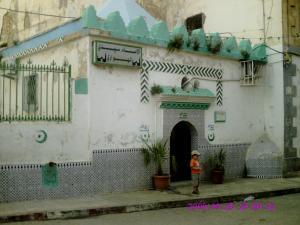 مدخل ضريح سيد الهواري بمدينة وهران