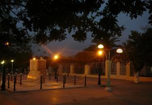 صورة ليلية لساحة الشهداء