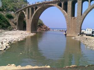 جسر بضواحي مدينة جيجل