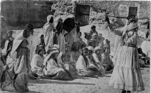 مهرجان بدوي بمدينة توڨرت في الفترة الإستعمارية
