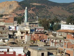 منظر شامل لقرية