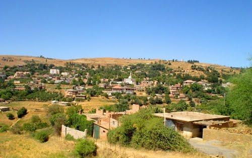 Vue sur la commune de Ouled Brahim (Wilaya de M�d�a)