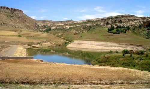 Une Réserve d'eau à Sidi Ziane