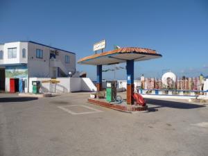 Station Service aux abords de Mostaganem