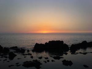 Coucher du Soleil sur la Plage de Sidi Mejdoub