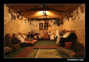 منظر داخلي للزاوية الممشاوية بولاية وهران