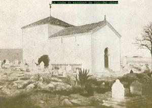 صورة قديمة لضريح سيدي بلعباس