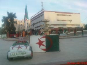 Jet d'eau près de la Mairie de Sidi Ali