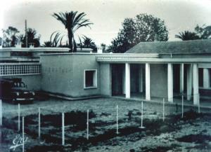 Hôpital de Msila à l'époque coloniale